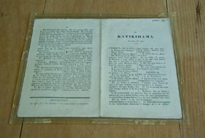 Pamphlet, 'He Katikihama'; Wesleyan Mission Press; XMM.32