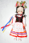 Ornament -  Large doll in Polish costume; 2017/3503-1