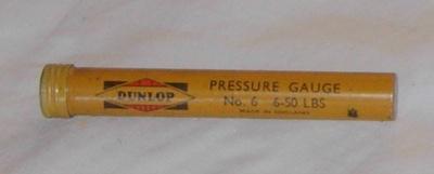 Dunlop Tyre Pressure Gauge; Dunlop; 1993-2053-1