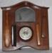 Wall Barometer and Clothes Brush Set; 1990-1744-1