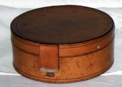 Leather Collar Box; 1979-0699-1