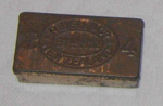 Tin of Waxed Matches; R Bell & Co; 1993-2045-1