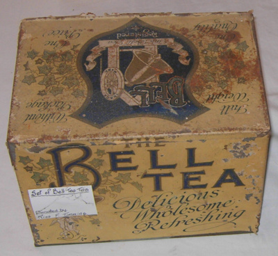 Bell Tea Tin (Large); Bell Tea Co Ltd; 1978-0532-1