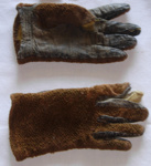 Pair of Astrakan and Kid Leather Childs Gloves; 1983-1383-1