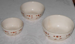 Set of Three Bowls; 1998-2488-1