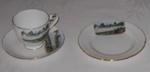Pahiatua Souvenir Plate, Cup & Saucer; Royal Grafton; 2006-3110-1