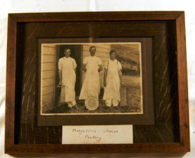Framed Photo - Mangarama Cheese Factory Workers; 1993-1998-1