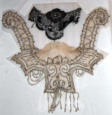Lace Bertha Collars (2 No.); 1977-0094-1