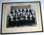 Framed Photo - Lodge Tararua No. 67 - 1959; Johnsons Studio; 1959; 1990-1721-1