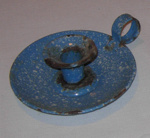 Enamel Candlestick Holder; 1988-1580-1