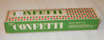 Box of Confetti; Canterbury Sheltered Workshop Assoc.; c1960's; 2008-3211-1