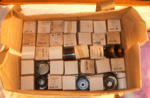 Box of Film Strips - Makuri School; 1996-2525-1