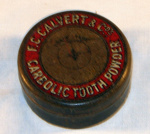 Carbolic Tooth Powder Tin; F. C. Calvert; 1979-0783-1