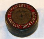 Carbolic Tooth Powder Tin; F. C. Calvert; 1979-0783-1