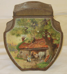 Decorative Tea Tin; 1995-2274-1