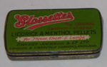 Glossettes Licorice Pellets Tin; Ernest Jackson & Co Ltd; 1990-1828-2