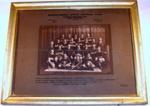 Framed Photo - Mangatainoka Football Team 1923; Bunting Studio; 1923; 1993-1997-1 Framed Photo - Mangatainoka Football Team 1923