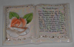 Lords Prayer Ornament; 1994-2104-1