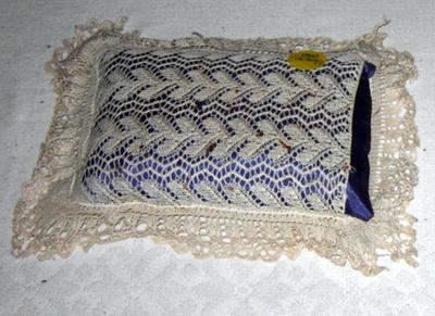Handworked Pincushion; 1841; 1983-1439-1