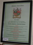 Framed Document - A Crest of Pahiatua with explanation; Bryan James; 2016; 2016-3472-1