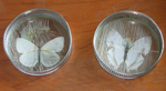 Pair of Butterfly Coasters; 1980-0945-1