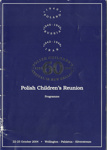 60th Polish Childrens Reunion booklet; 2004/2903/1