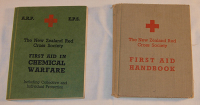 NZ Red Cross Society Manuals (x2); Whitcomb & Tombs; c1914; 1989-1768-1