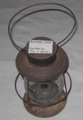 Hurricane Lamp; Dietz; 1979-0886-1