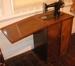 Treadle machine; Singer; 1980/0966/1