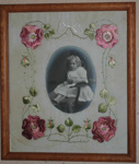 Embroidered Photo Frame; 1979/0196/1