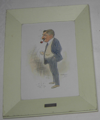 Framed Picture - Pahiatua Personalities; W A Bowring; 1912; 1979-0917-1