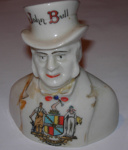 John Bull ornament; W & R Carlton China; 1979-0825-1