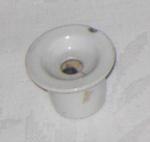 White Crockery Inkwell; 1988-1679-1