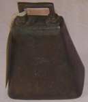 Cow Bell; c1886; 1977-0032-1