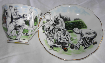 Small cup and saucer - Lady's; Royal Albert; 2008-3221-1