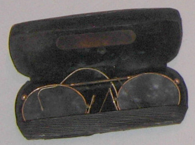 Spectacles in Case (Victorian); J H Harrison; 1977-0026-1