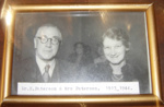 Framed photo of Dr & Mrs Paterson; 1999-2621-1