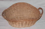 Wicker Work Basket; 1981-1205-1