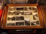 Framed Photo Board of Manawatu Gorge; 1995-2868-1