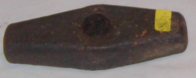 Iron Hammer Head for Stone Knapping; 1977-0130-1