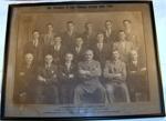 Framed Photo - Pahiatua Boxing Club Executive 1928; J H Brown; 1928; 1978-0613-1