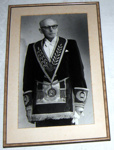 Framed Photo - Lodge Tararua No. 67 - J C Davidson; 1990; 1990-1718-1