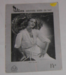 Patons Knitting Book No. 342; Patons & Baldwins; c1950's; 2005-2872A-1