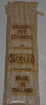 Packet of pipe cleaners; Woolly; 2010-3330-1