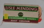 Invisible Darning Thread with Bodkin; Glista; 1989-1777-1