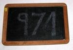 School Slate; 1980-0974-1