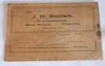 Photo Envelope from J H Brown (Pahiatua); J H Brown; 1981-1165-1
