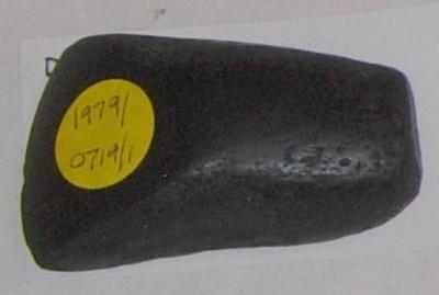 Small Stone Adze (Maori); 1979-0719-1