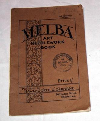 Melba Art Needlework Book; Hawksworth & Osborne; 1994-2097-1