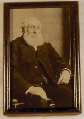 Framed Photo of John Hall; 2006-3186-1